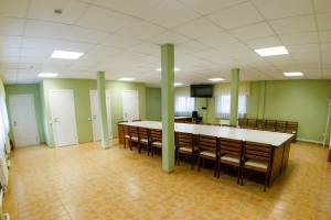 Зал в холле 8 корпуса, 30 мест