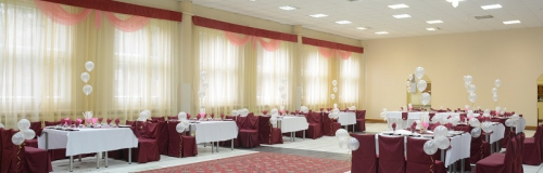 банкетный зал в столовой, 150 мест
