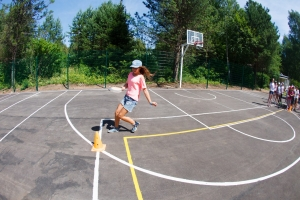 спортивные площадки в лагере